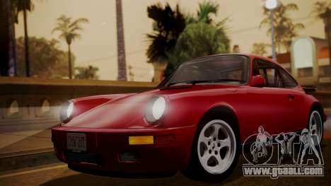 RUF RUF RUF Ctr yellowbird (911) 1987 АПП IVF for GTA San Andreas back left view