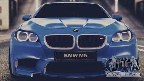 BMW M5 F10 Stock Single for GTA San Andreas