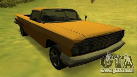Voodoo El Camino v1 for GTA San Andreas wheels