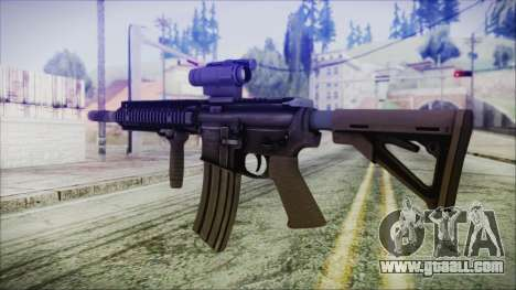 MK18 SEAL for GTA San Andreas second screenshot