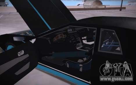 Elegy DRIFT KING GT-1 (Stok wheels) for GTA San Andreas side view