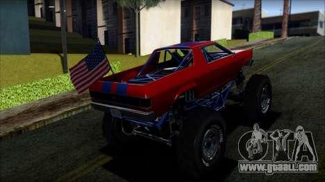 GTA 5 Cheval Marshall IVF for GTA San Andreas left view