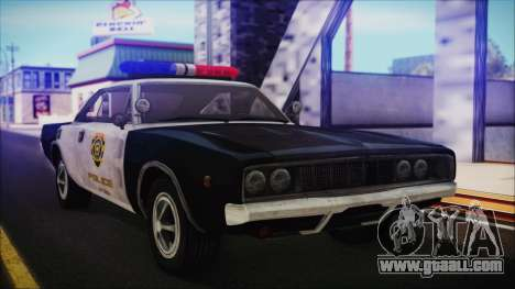 Police Car R.P.D. from RE 3 Nemesis for GTA San Andreas