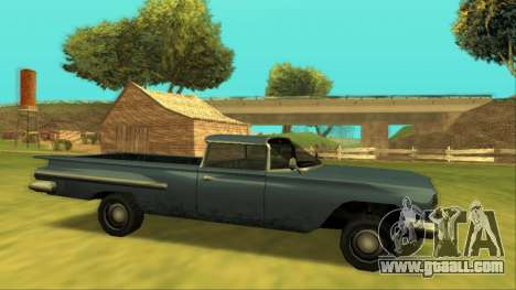 Voodoo El Camino v1 for GTA San Andreas left view