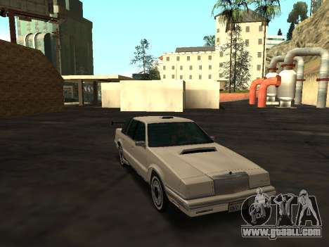 Chrysler New Yorker 1988 for GTA San Andreas upper view