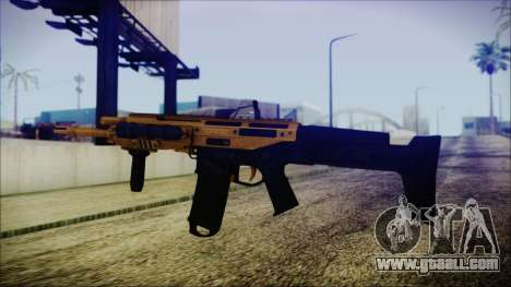 Bushmaster ACR Gold for GTA San Andreas second screenshot