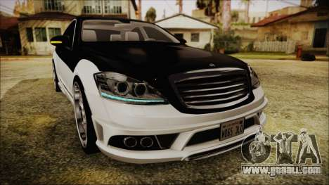 Carlsson Aigner CK65 RS v2 Headlights for GTA San Andreas side view