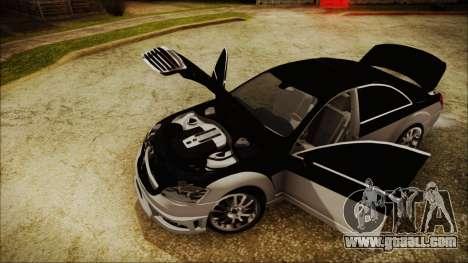 Carlsson Aigner CK65 RS v2 Headlights for GTA San Andreas back view