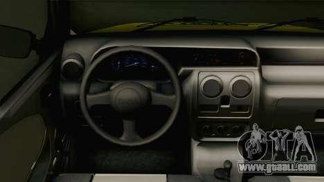 Dacia Solenza Taxi for GTA San Andreas inner view