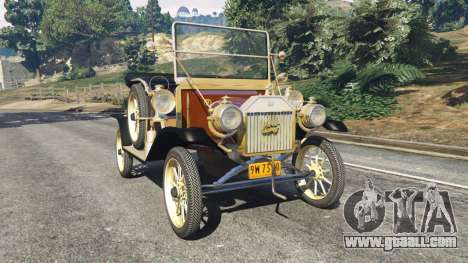 Ford Model T [two colors] for GTA 5