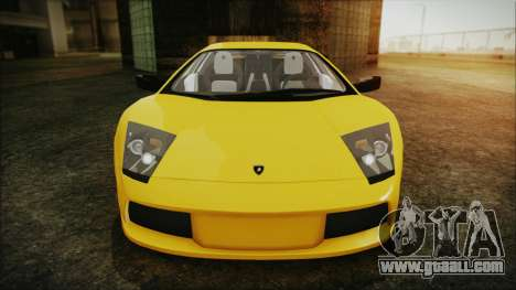 Lamborghini Murcielago 2005 Yuno Gasai IVF for GTA San Andreas upper view