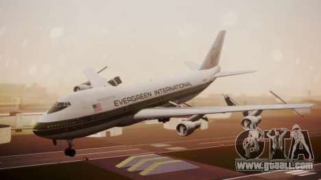 Boeing 747-200 Evergreen International Airlines for GTA San Andreas