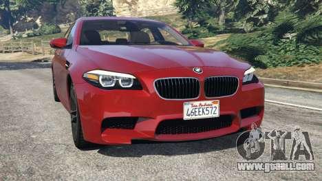 BMW 535i 2012 for GTA 5