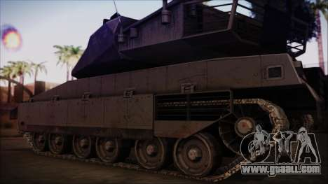 M2A1 Slammer Tank for GTA San Andreas