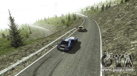 Stelvio Pass Drift Track for GTA San Andreas