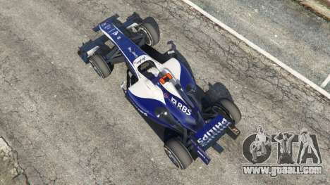 GTA 5 Williams FW32 back view