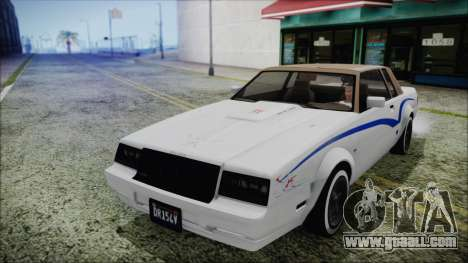 GTA 5 Willard Faction Custom for GTA San Andreas side view