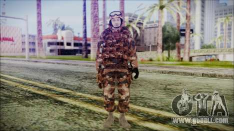 Chinese Army Desert Camo 3 for GTA San Andreas second screenshot