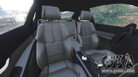 GTA 5 BMW M3 (E92) [LibertyWalk] v1.1 right side view