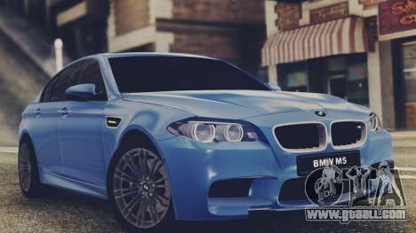 BMW M5 F10 Stock Single for GTA San Andreas left view