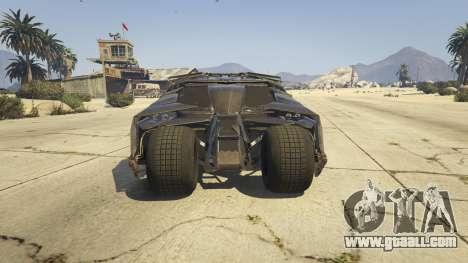GTA 5 The Tumbler back view