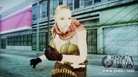 Mila Short Hair from Counter Strike for GTA San Andreas