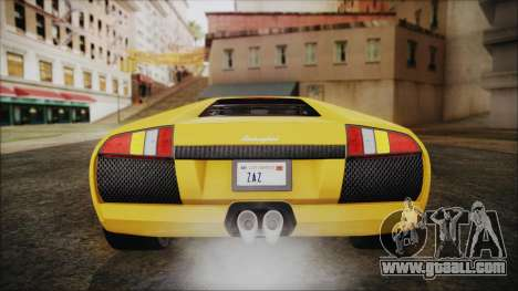 Lamborghini Murcielago 2005 Yuno Gasai IVF for GTA San Andreas bottom view
