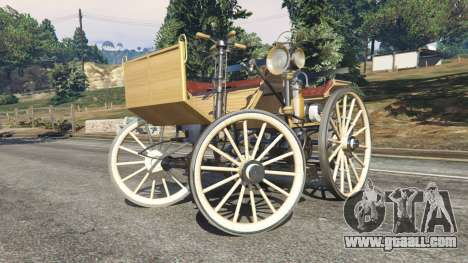 GTA 5 Daimler 1886 [wood] right side view
