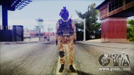MW2 Russian Airborne Troop Desert Camo v4 for GTA San Andreas second screenshot