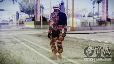 Chinese Army Desert Camo 4 for GTA San Andreas third screenshot