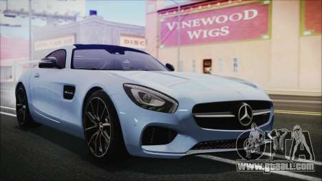 Mercedes-Benz AMG GT 2016 for GTA San Andreas
