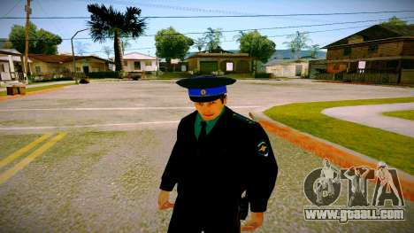 The employee of the Ministry of Justice v3 for GTA San Andreas