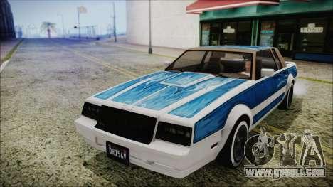 GTA 5 Willard Faction Custom for GTA San Andreas right view
