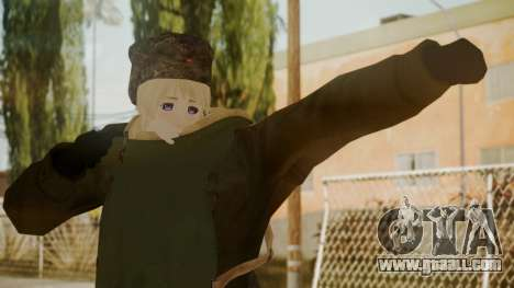 Red Army Cossack - WW2 for GTA San Andreas