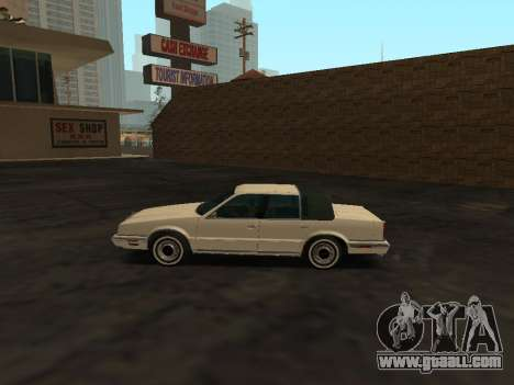 Chrysler New Yorker 1988 for GTA San Andreas left view