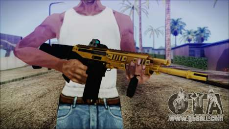 Bushmaster ACR Gold for GTA San Andreas third screenshot