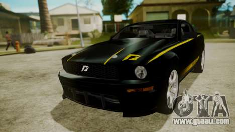 Ford Mustang Shelby Terlingua for GTA San Andreas