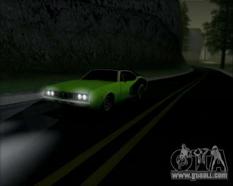 Clover Barracuda for GTA San Andreas back left view