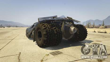 GTA 5 The Tumbler rear left side view