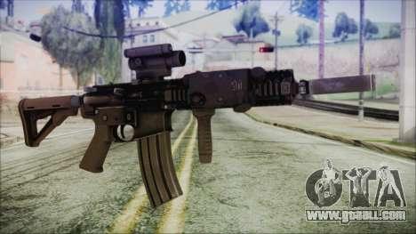 MK18 SEAL for GTA San Andreas