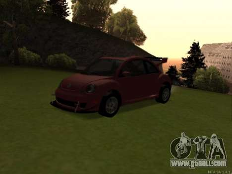 VW New Beetle 2004 Tunable for GTA San Andreas back view