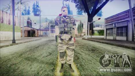 MGSV Phantom Pain Snake Normal Tiger for GTA San Andreas second screenshot