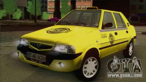 Dacia Solenza Taxi for GTA San Andreas