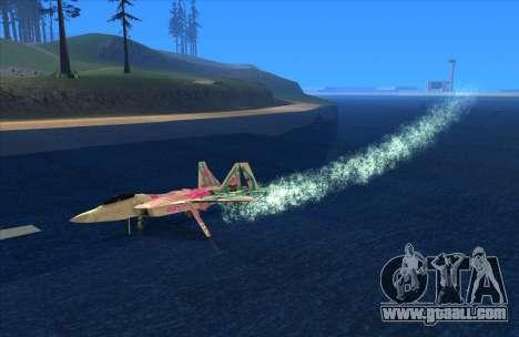 Water Effect for GTA San Andreas third screenshot