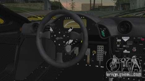 McLaren F1 GTR 1998 Parabolica for GTA San Andreas right view