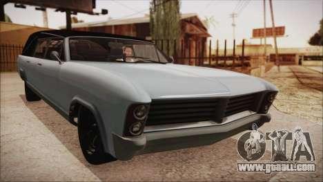 GTA 5 Albany Lurcher Bobble Version for GTA San Andreas
