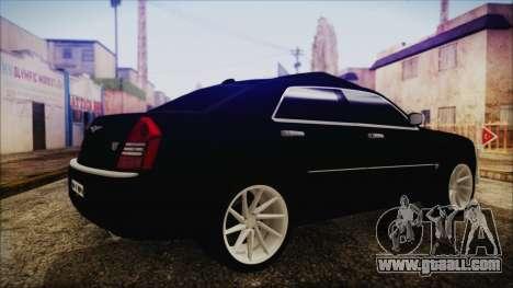 Chrysler 300С Unalturan for GTA San Andreas left view