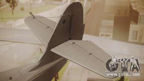 Grumman G-21 Goose Paintkit for GTA San Andreas back left view