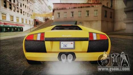 Lamborghini Murcielago 2005 Yuno Gasai IVF for GTA San Andreas interior