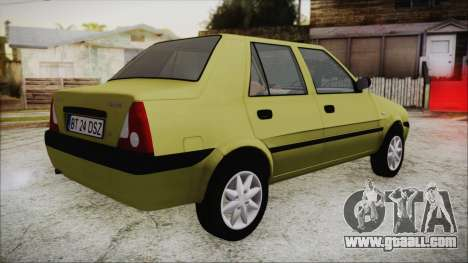 Dacia Solenza for GTA San Andreas left view